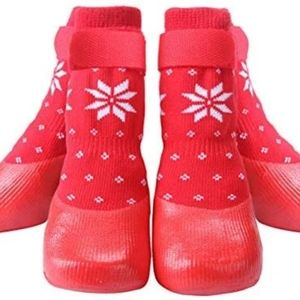 NEW KOOLTAIL Red Dog Boots Anti Slip with Straps